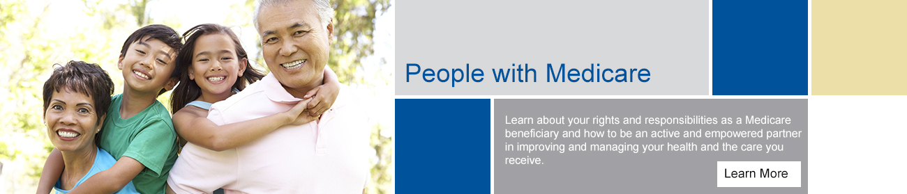 MPQHF - People with Medicare Slideshow Banner Image