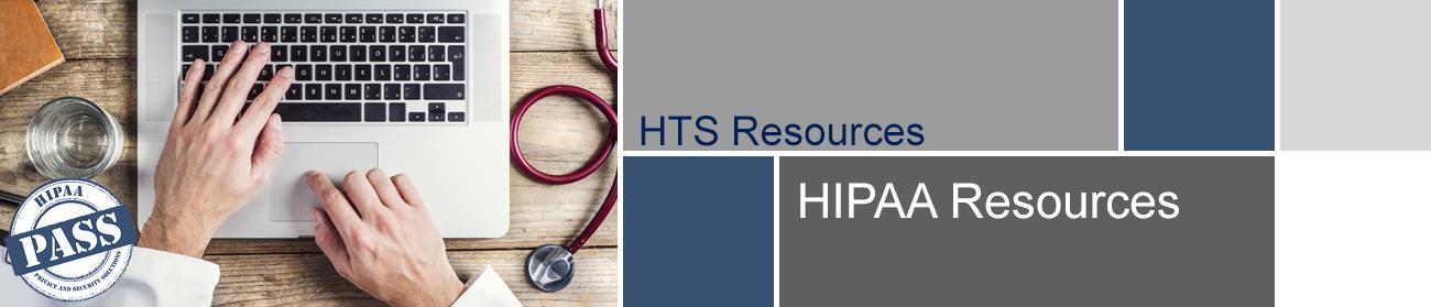 HIPAA PASS Resources